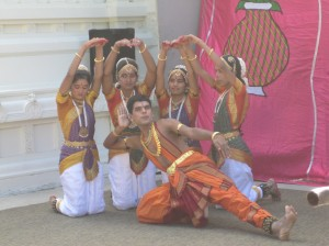 Dancers from Sunadha troupe